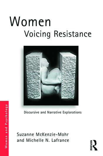 Women Voicing Resistance Discursive and narrative explorations book cover