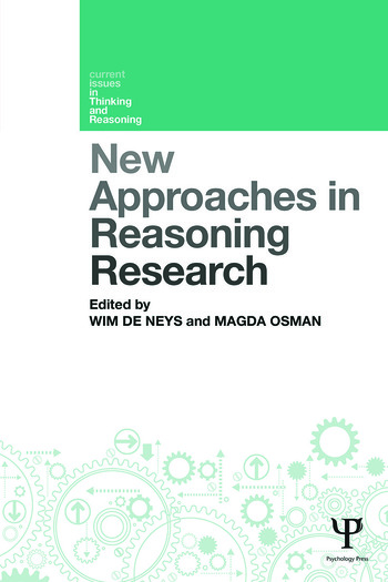 New Approaches in Reasoning Research book cover