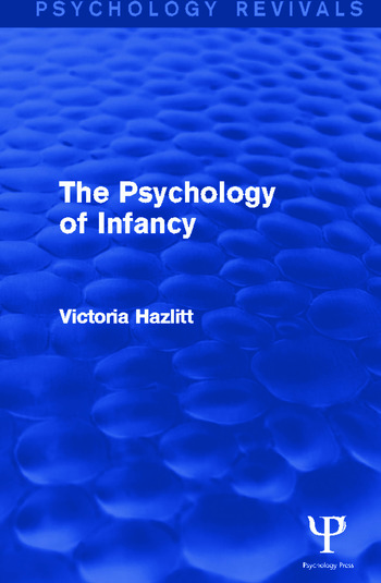 The Psychology of Infancy book cover