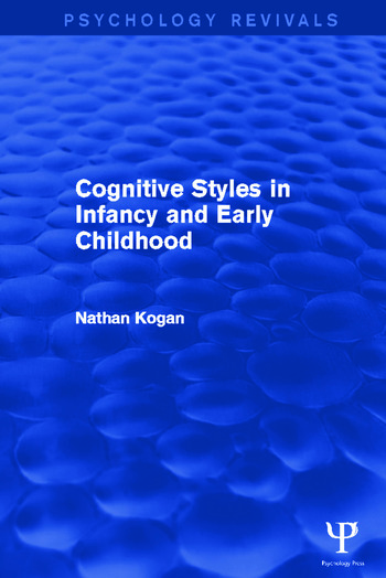 Cognitive Styles in Infancy and Early Childhood book cover