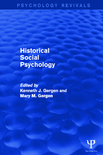Historical Social Psychology book cover