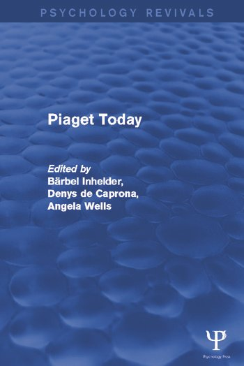 Piaget Today book cover