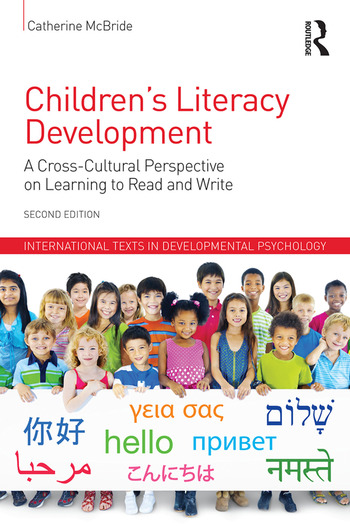 Children's Literacy Development A Cross-Cultural Perspective on Learning to Read and Write book cover
