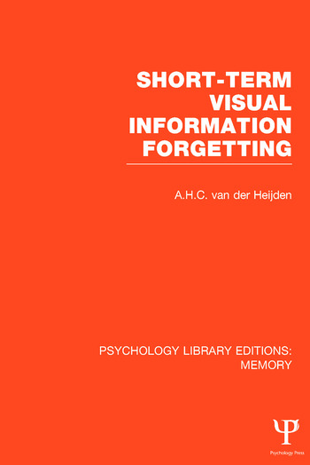 Psychology Library Editions: Memory book cover