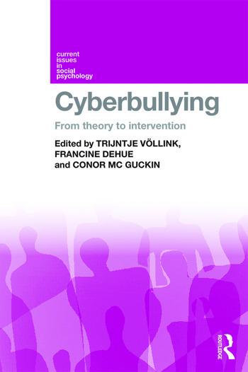 Cyberbullying From Theory to Intervention book cover