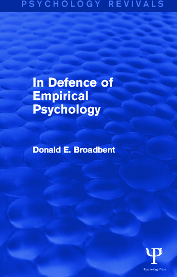 In Defence of Empirical Psychology book cover