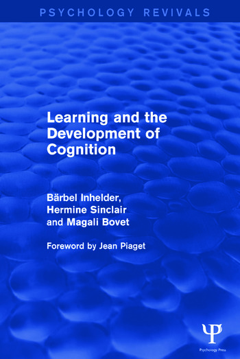 Learning and the Development of Cognition book cover
