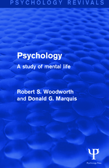 Psychology A Study of Mental Life book cover