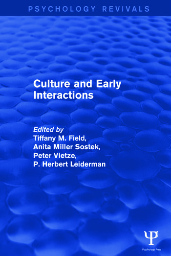 Culture and Early Interactions book cover
