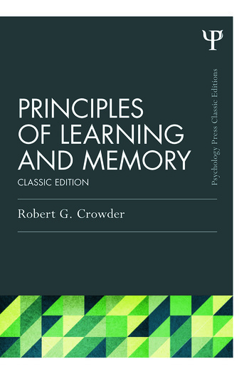 Principles of Learning and Memory Classic Edition book cover