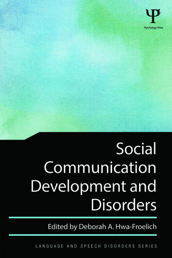 Social Communication Development and Disorders book cover