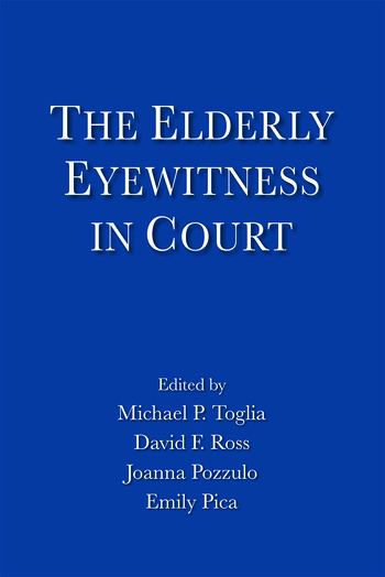 The Elderly Eyewitness in Court book cover