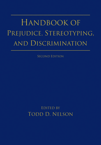 Handbook of Prejudice, Stereotyping, and Discrimination 2nd Edition book cover