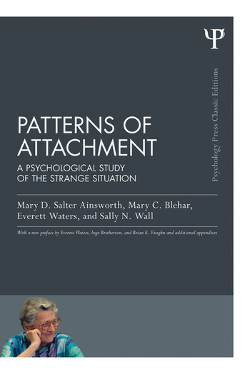 Patterns of Attachment A Psychological Study of the Strange Situation book cover