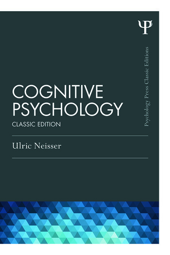 Cognitive Psychology Classic Edition book cover