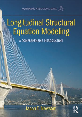 Longitudinal Structural Equation Modeling A Comprehensive Introduction book cover