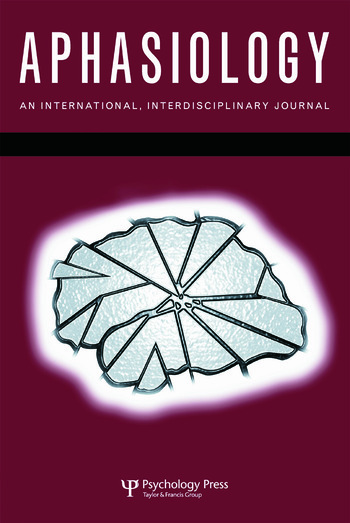 38th Clinical Aphasiology Conference A Special Issue of Aphasiology book cover