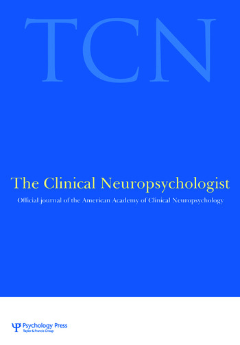 Proceedings of the International Conference on Behavioral Health and Traumatic Brain Injury A Special Issue of The Clinical Neuropsychologist book cover