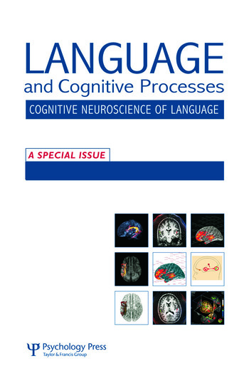 The Cognitive Neuroscience of Semantic Processing A Special Issue of Language and Cognitive Processes book cover