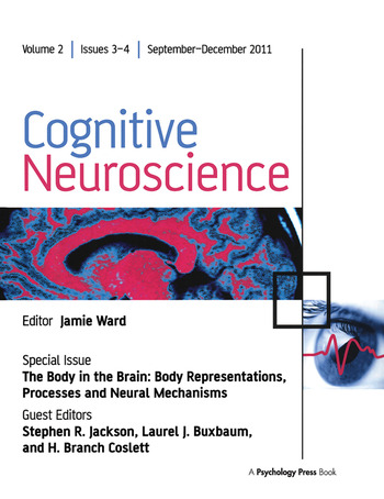 The Body in the Brain Body Representations, Processes and Neural Mechanisms book cover