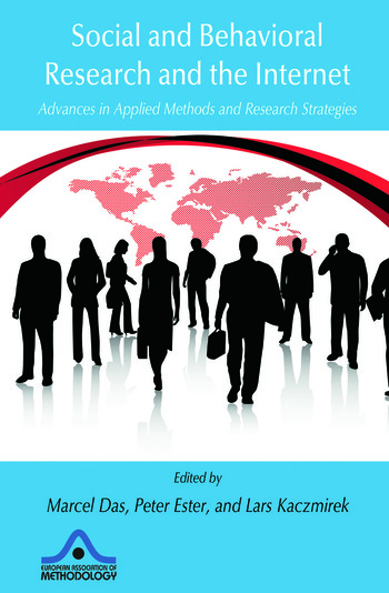 Social and Behavioral Research and the Internet Advances in Applied Methods and Research Strategies book cover
