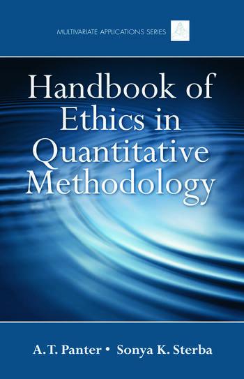 Handbook of Ethics in Quantitative Methodology book cover