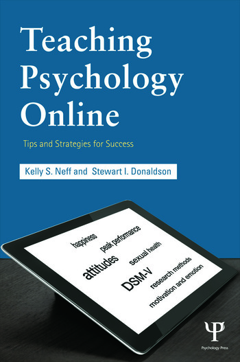 Teaching Psychology Online Tips and Strategies for Success book cover