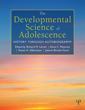 The Developmental Science of Adolescence History Through Autobiography book cover