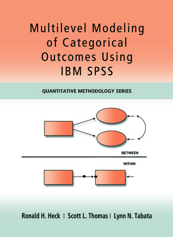 Multilevel Modeling of Categorical Outcomes Using IBM SPSS book cover