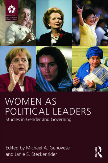 Women as Political Leaders Studies in Gender and Governing book cover