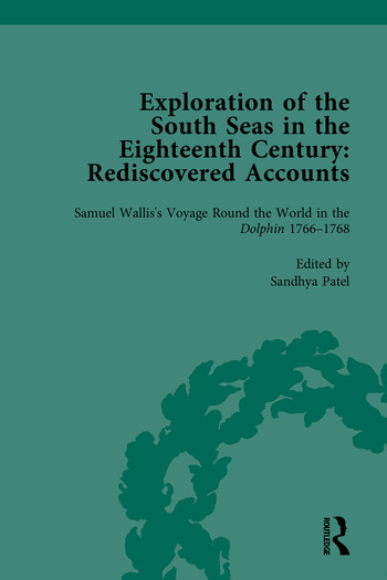 Exploration of the South Seas in the Eighteenth Century Rediscovered Accounts book cover