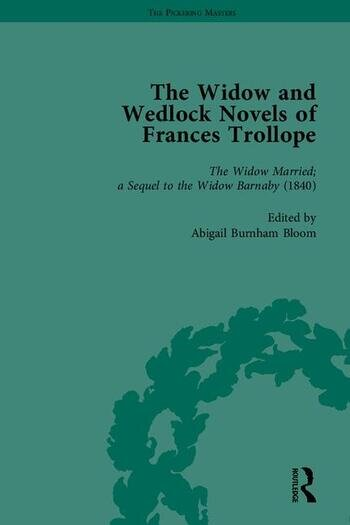 The Widow and Wedlock Novels of Frances Trollope book cover