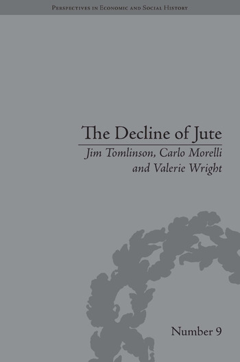 The Decline of Jute Managing Industrial Change book cover