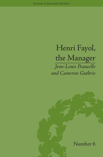 Henri Fayol, the Manager book cover