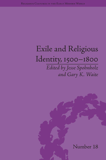 Exile and Religious Identity, 1500–1800 book cover