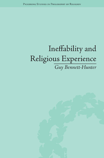 Ineffability and Religious Experience book cover