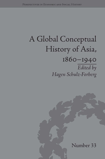 A Global Conceptual History of Asia, 1860–1940 book cover
