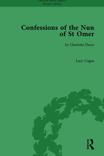 Confessions of the Nun of St Omer by Charlotte Dacre book cover