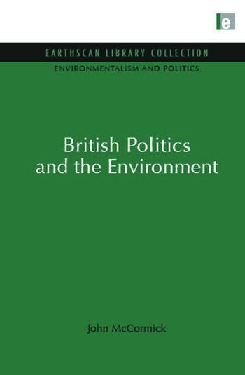 Environmentalism and Politics Set book cover
