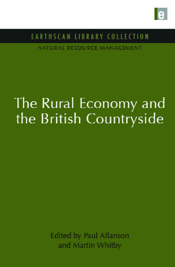 The Rural Economy and the British Countryside book cover