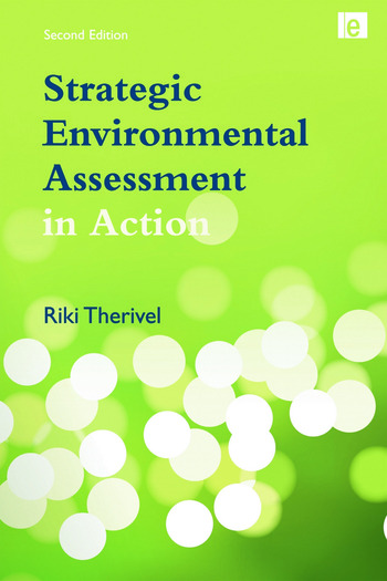 Strategic Environmental Assessment in Action book cover