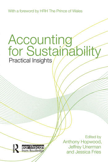 Accounting for Sustainability Practical Insights book cover