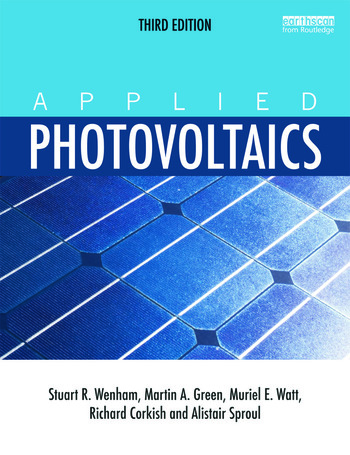 Applied Photovoltaics book cover