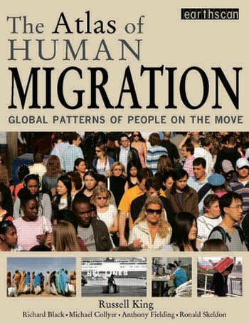 The Atlas of Human Migration Global Patterns of People on the Move book cover
