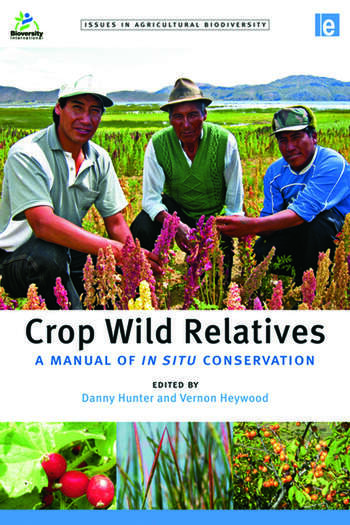 Crop Wild Relatives A Manual of in situ Conservation book cover