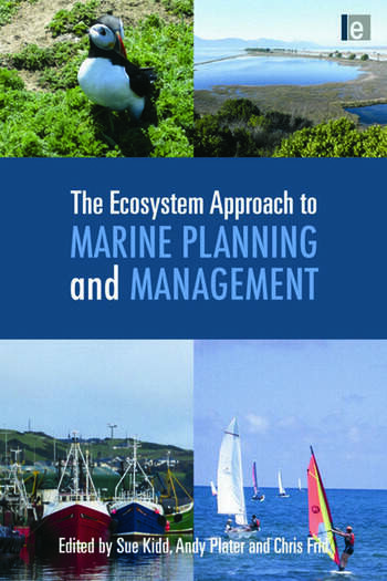 The Ecosystem Approach to Marine Planning and Management book cover