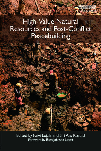 High-Value Natural Resources and Post-Conflict Peacebuilding book cover