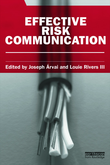 Effective Risk Communication book cover