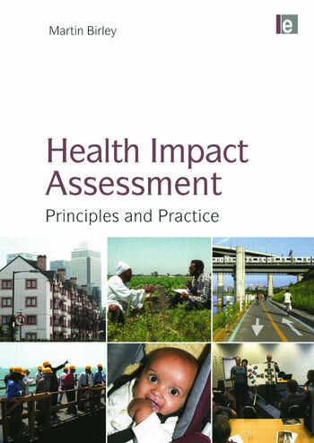Health Impact Assessment Principles and Practice book cover