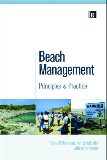 Beach Management Principles and Practice book cover